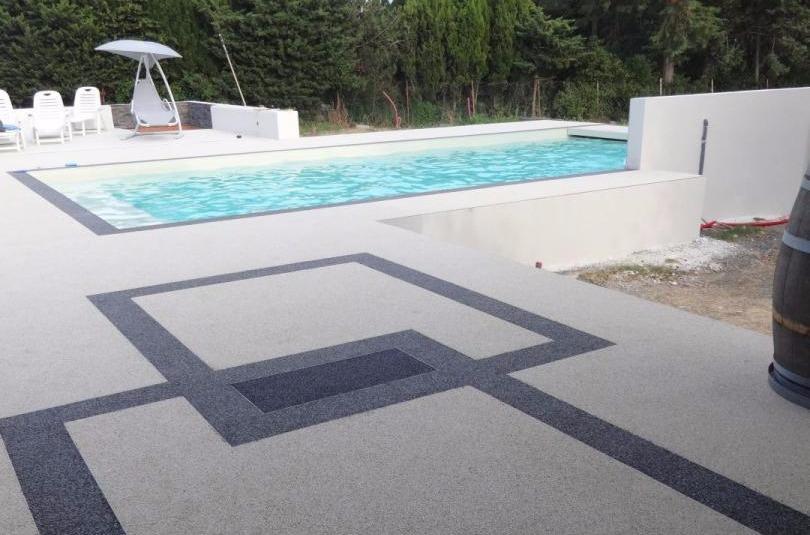 Aménagement plage de piscine Villeneuve-de-la-Raho, Perpignan ...